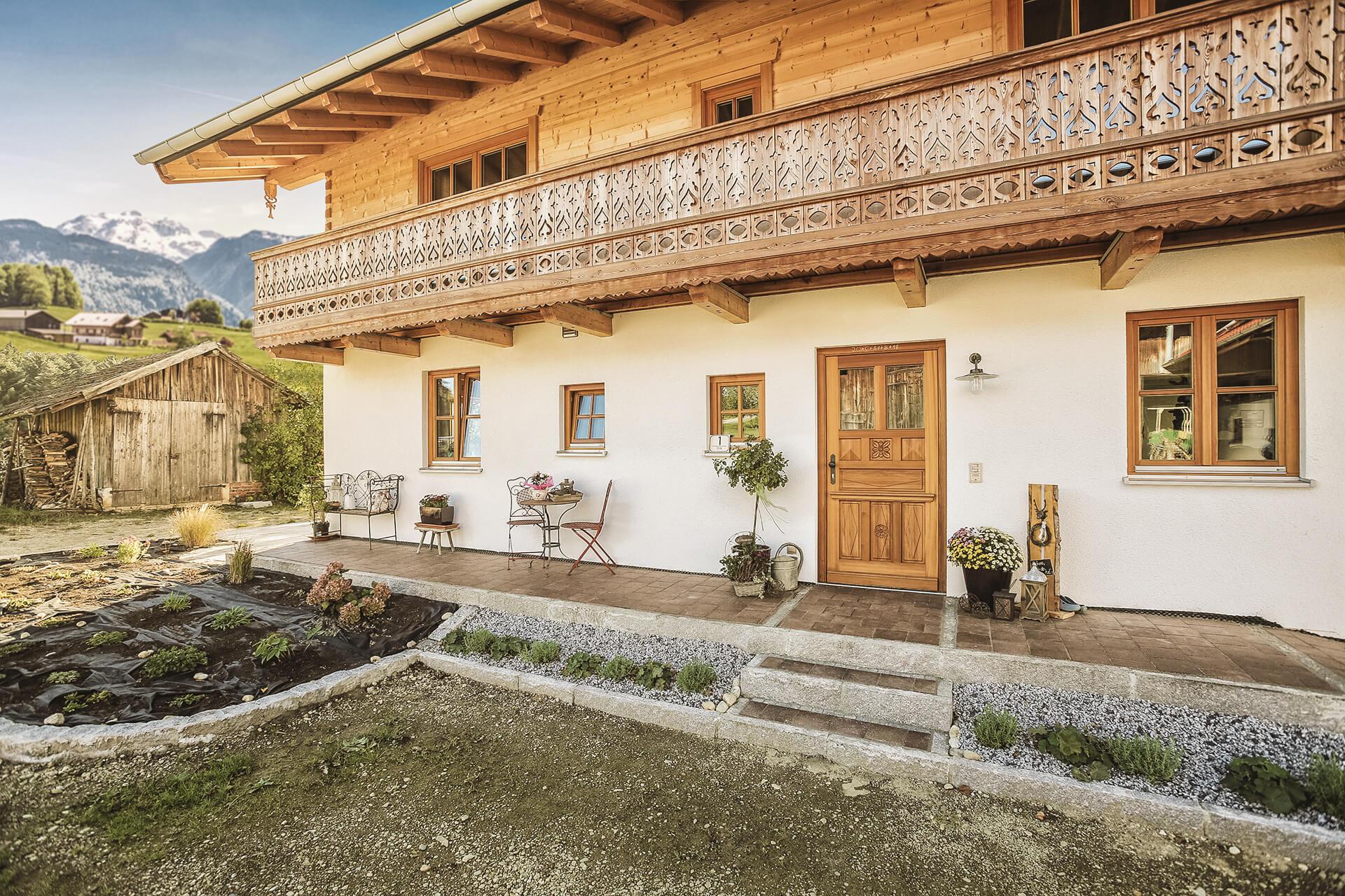 Blockhaus Regensburg ein Energiesparhaus von Chiemgauer Holzhaus