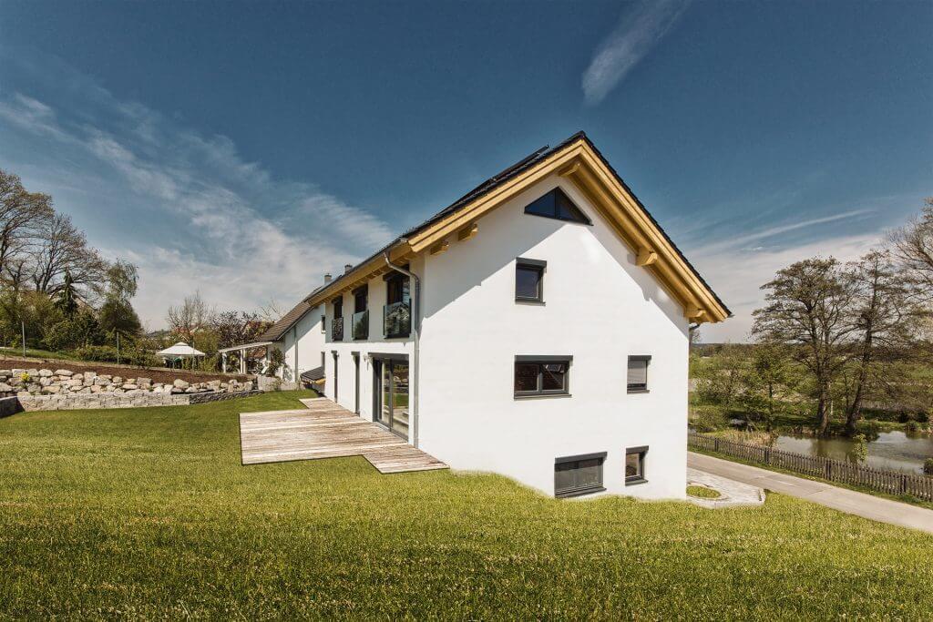 Massivholzhaus Aachen von Chiemgauer Holzhaus
