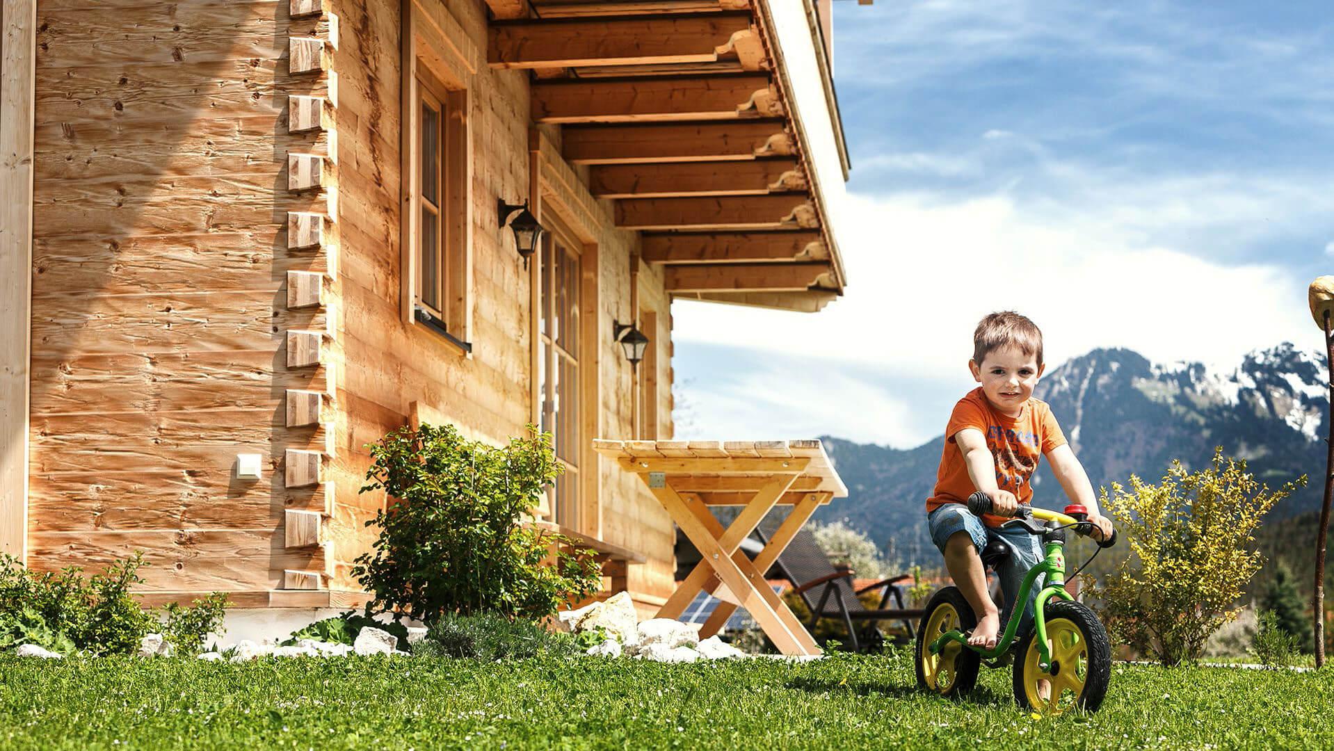 Chiemgauer Holzhaus Holzhaushersteller aus Bayern