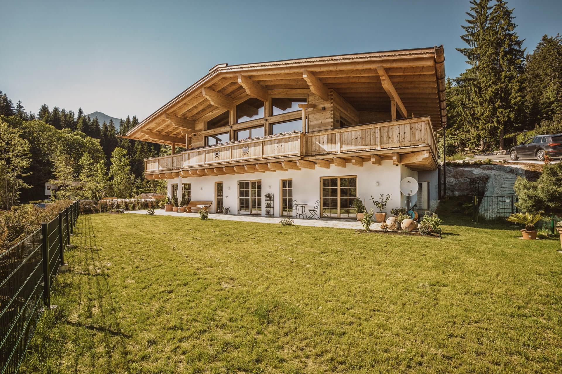 Chiemgauer Holzhaus Haus Kitzbuehel