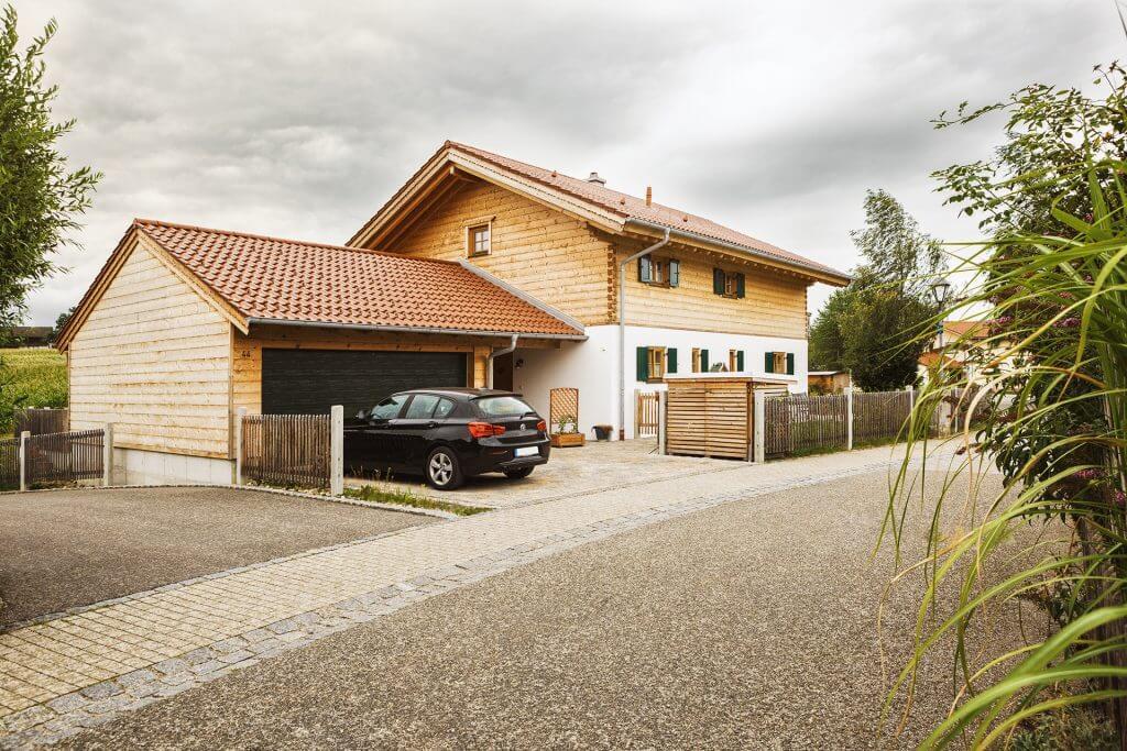 Blockhaus Hannover von Chiemgauer Holzhaus