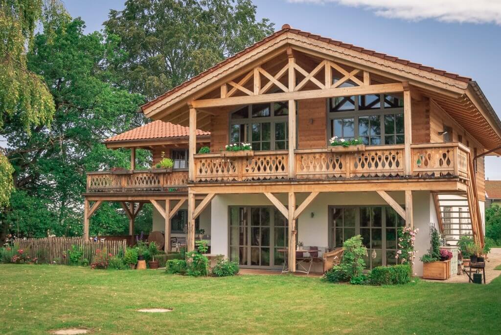 Massivholzhaus Chiemgau